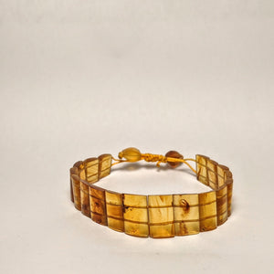 PREMIUM COLLECTION - Natural Amber bracelet