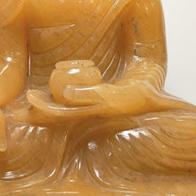 Load image into Gallery viewer, Yellow Jade Buddha statute -  Crystal collection