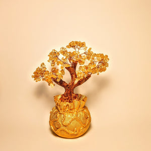 Crystal collection - Citrine Money Tree
