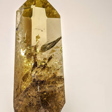 Load image into Gallery viewer, Crystal collection - Citrine point on stand / Natural Golden Citrine on stand
