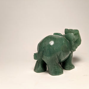 Green Aventurine Elephant - Crystal Collection