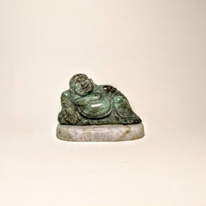 Jade Buddha statute -  Crystal collection