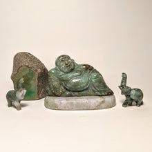 Load image into Gallery viewer, Jade Buddha statute -  Crystal collection