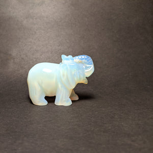 Crystal collection - Opalite Elephant trunk up
