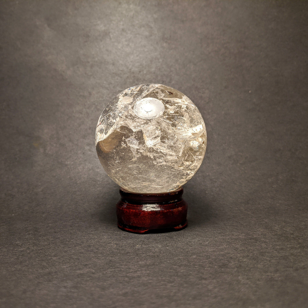 Clear Quartz Sphere / Crystal Ball - Crystal Collection