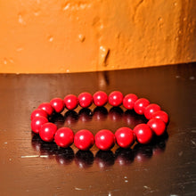 Load image into Gallery viewer, Red Coral bracelet - Natural Coral