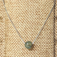 Load image into Gallery viewer, Jade Ball Pendant - green Jade