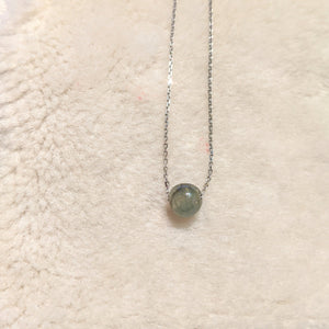 Jade Ball Pendant - green Jade