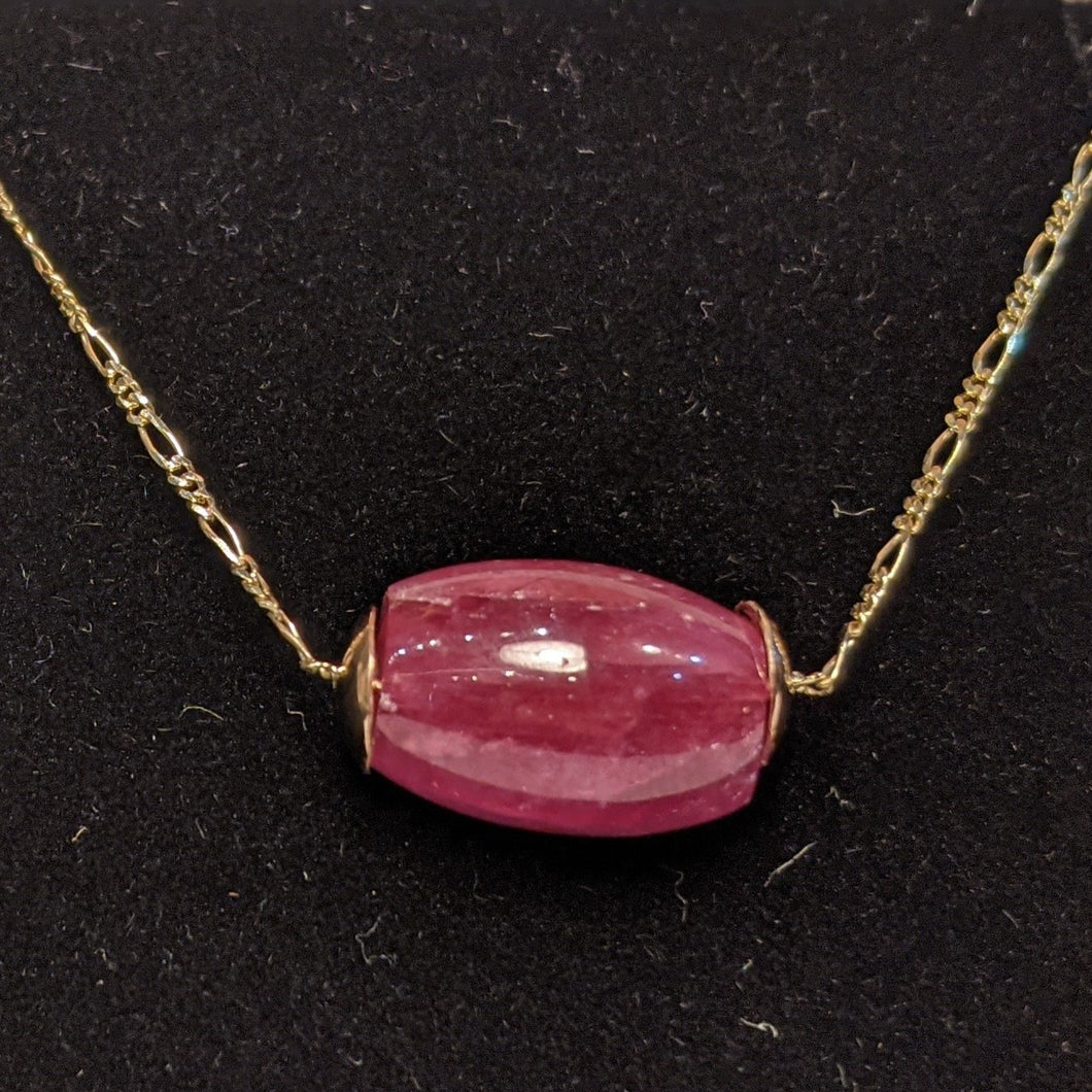 PREMIUM COLLECTION - Natural Ruby pendant