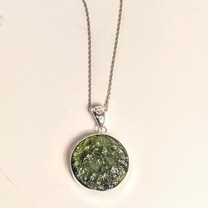 PREMIUM COLLECTION - Natural Moldavite / (NOT A FAKE STONE)