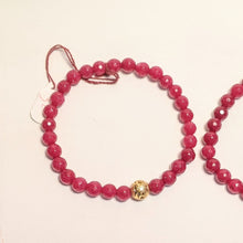 Load image into Gallery viewer, PREMIUM COLLECTION - Smaller Ruby bracelet