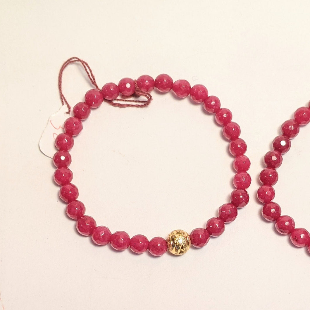 PREMIUM COLLECTION - Smaller Ruby bracelet