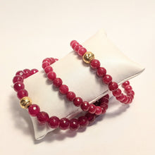 Load image into Gallery viewer, PREMIUM COLLECTION - Ruby bracelet