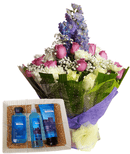 Astonishing Water Bouquet and gifts.