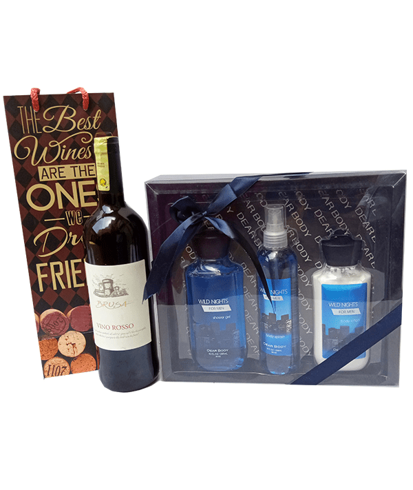 Charming Love wine and gift package.