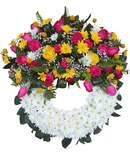 Bright and Beautiful wreath