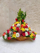 Angelina flower basket by Simona Flowers