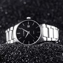 Curren quartz stainless steel silver men's watch