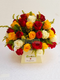 Elegant Brush royal box bouquet by Simona Flowers