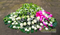 Faithful wishes coffin spread flower arrangement by Simona Flowers