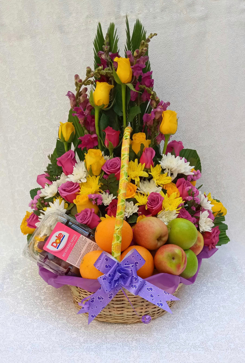 Sweet melody fruit basket