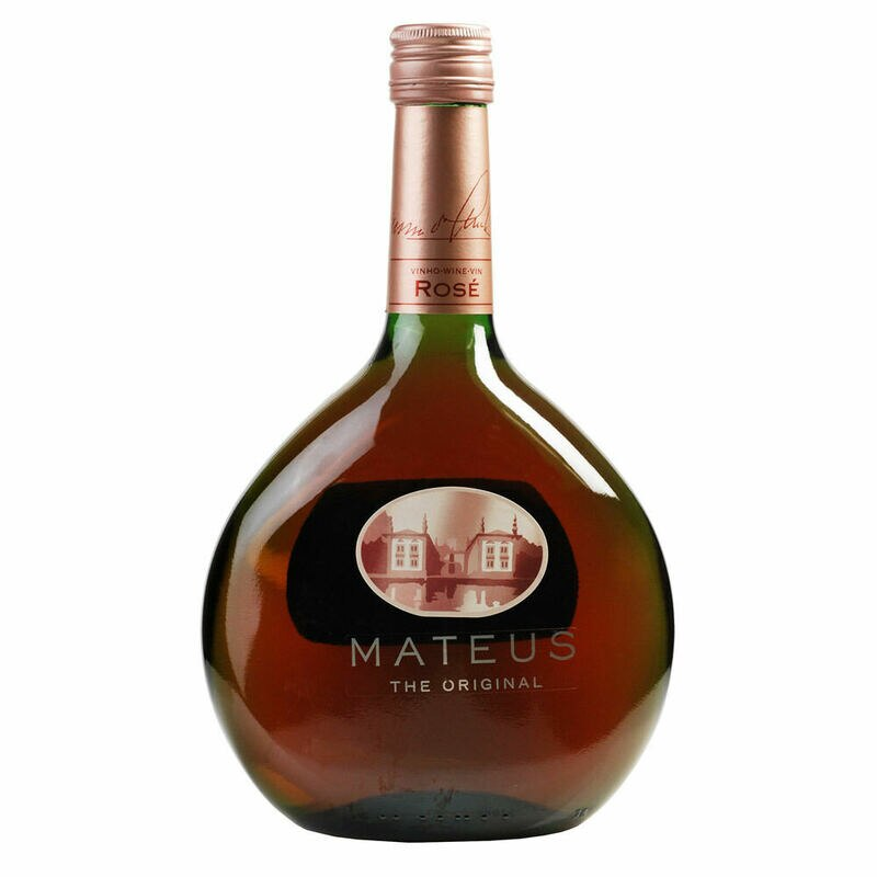 Mateus rose wine