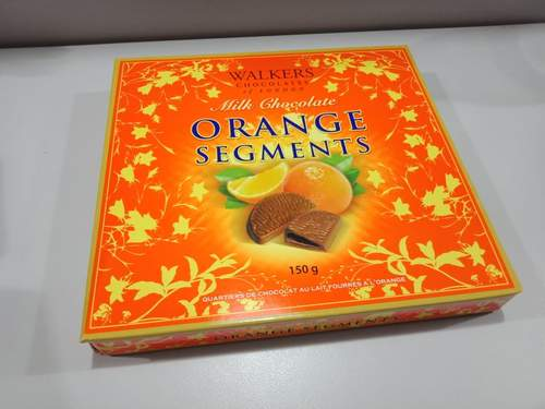 Walkers milk chocolate Orange segments - Simona Flowers