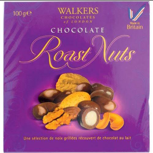 Walkers chocolate roast nut 100g