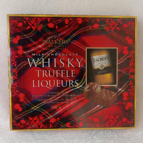 Walkers Whiskey truffle liqueurs - chocolates by Simona Flowers
