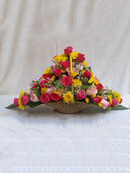Arrive in style Birthday flower basket - Simona Flowers