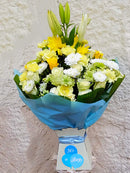 Darling baby boy bouquet by Simona Flowers