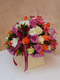 Bright summer royal birthday bouquet by Simona Flowers