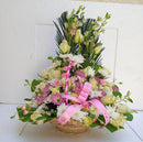 New born flower basket