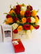 Sweet surprise Flowers and chocolate by Simona Flowers