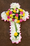 Executive Forever Memories cross wreath