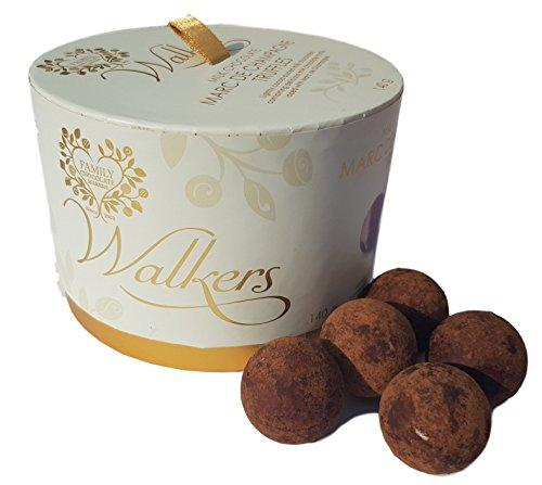 Walker's Champagne truffle drums by Simona Flowers