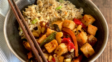 Crispy fried chilli tofu