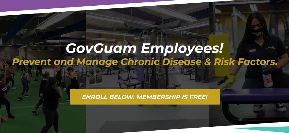 Paradise Fitness 2020 GovGuam Open Enrollment