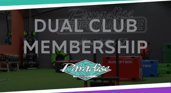Paradise Fitness - Dual Club Memberships - Black Friday Special