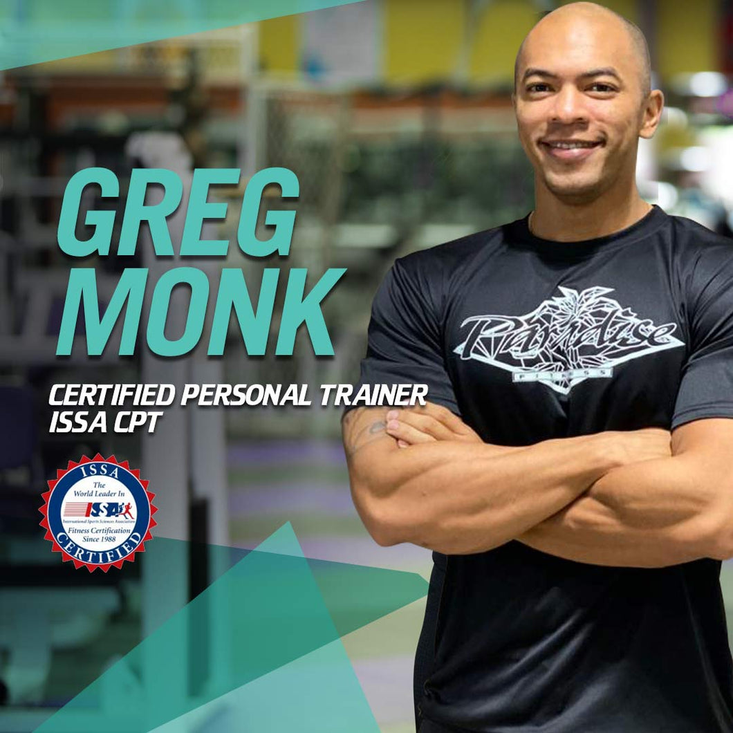 Greg Monk - 1 on 1 Personal Training Packages