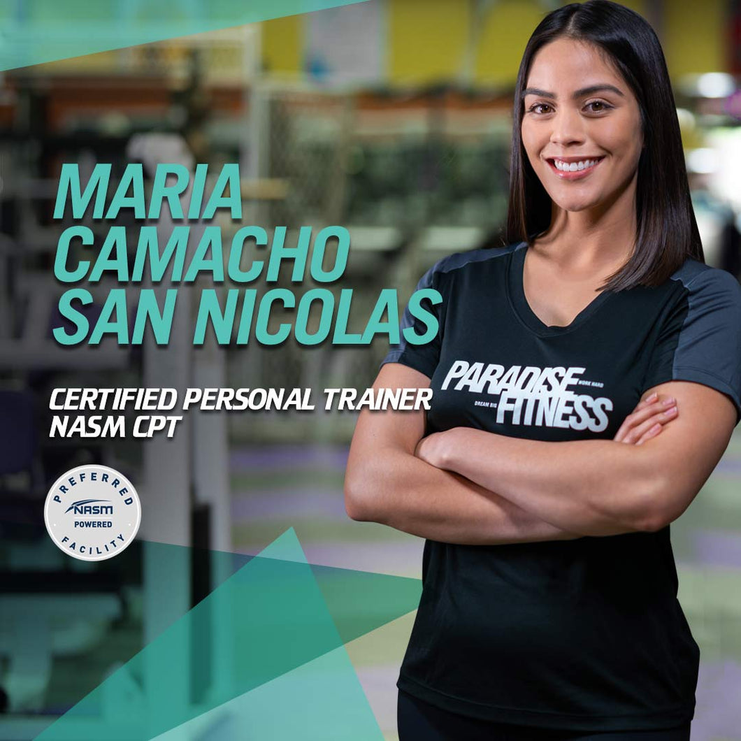 Maria San Nicolas - 1 on 1 Personal Training Packages