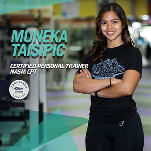 Muneka Taisipic - 1 on 1 Personal Training Packages