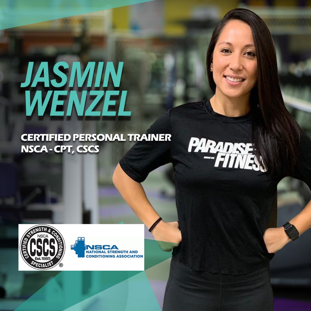Jasmin Wenzel - 1 on 1 Personal Training Packages