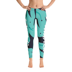 Paradise: 'Pacific Blue' Women Performance Spats