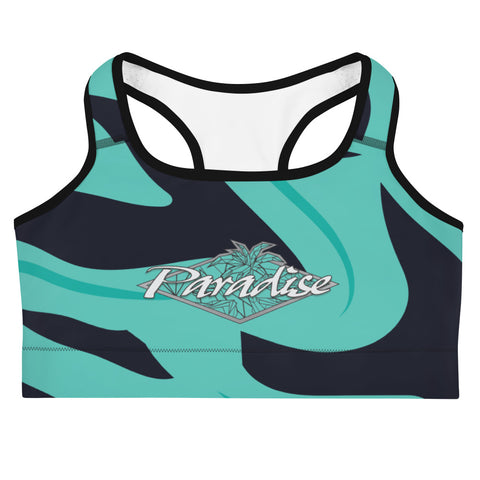 Paradise: Pacific Blue Sports Bra