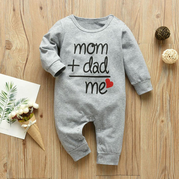 Baby Romper Mom+Dad=Me