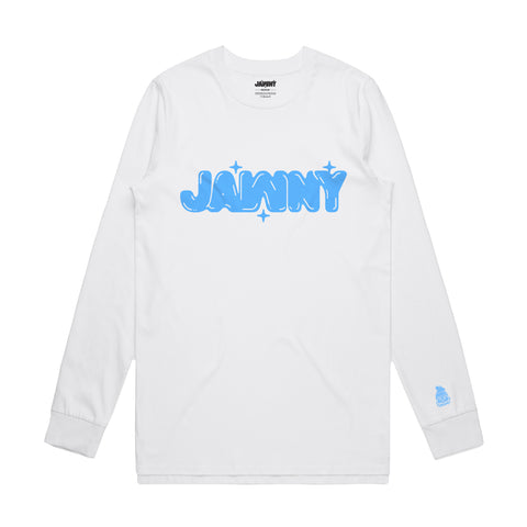 JAWNY Original Bubbles Long Sleeve / White