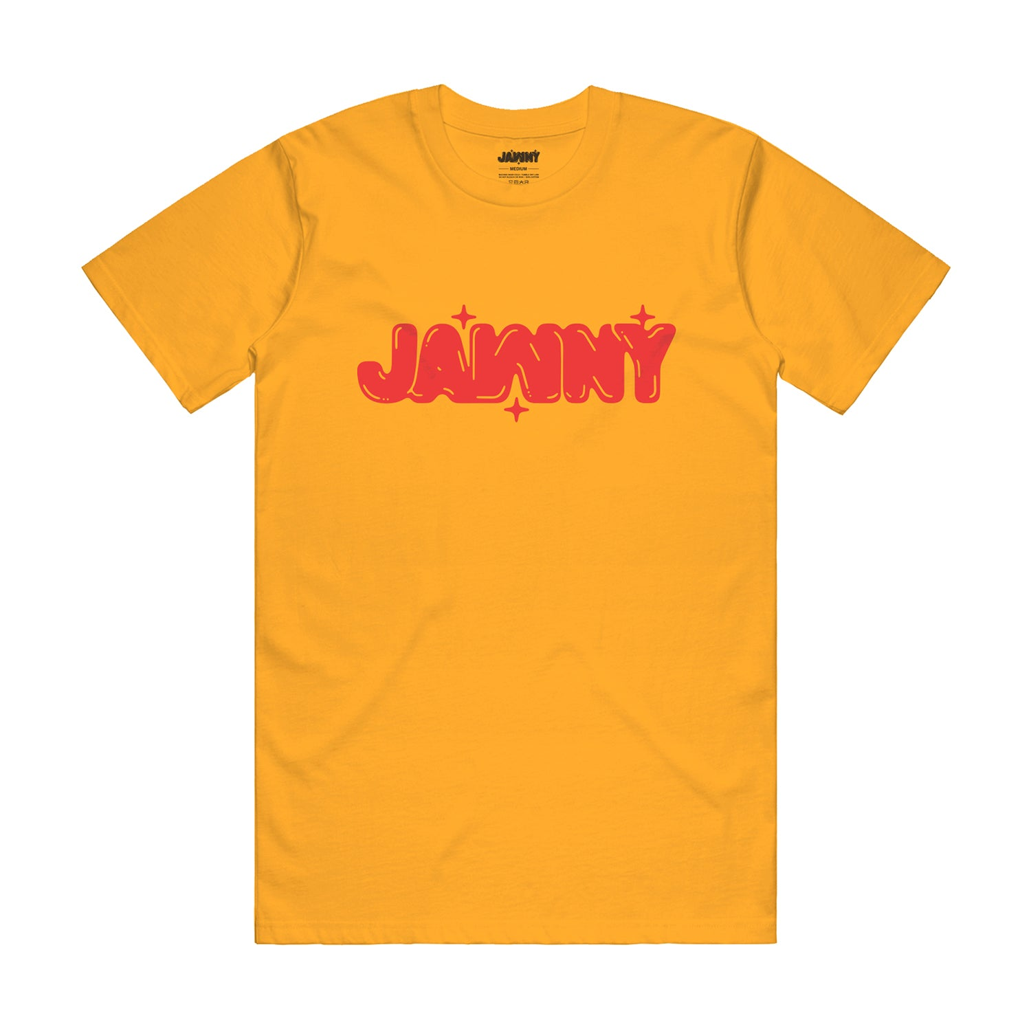 JAWNY Original Bubbles Tee / Gold