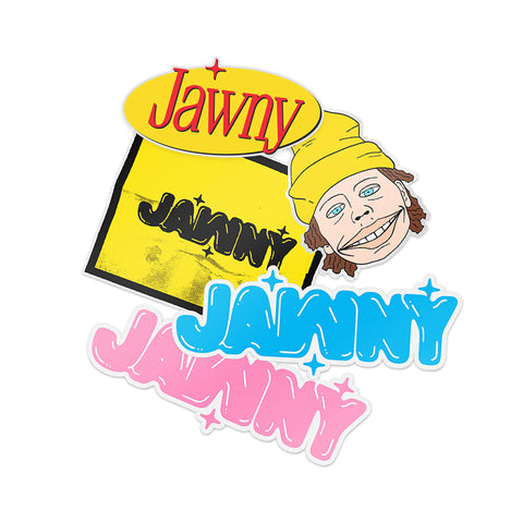 JAWNY Sticker Pack