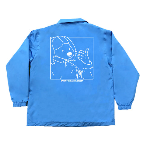 JAWNY x LK Coach Jacket / Royal Blue